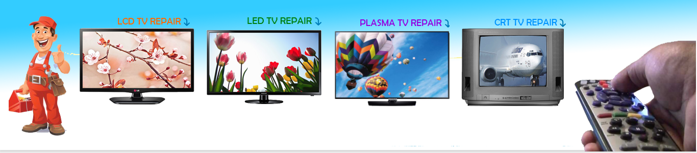 Image result for banner sá»a tivi